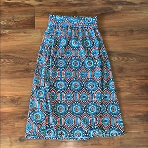 Girls Justice maxi skirt size 8